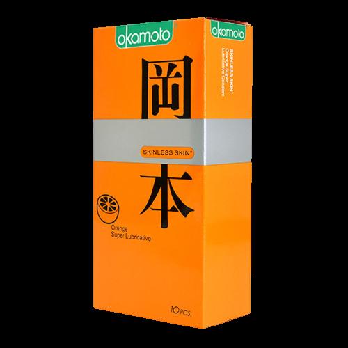 Bao Cao Su Orange Okamoto Siêu Mỏng Hương Cam Hộp 10 Chiếc Removebg Preview