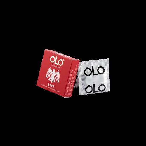 Bao Cao Su Olo 5in 1 Hộp 3 3
