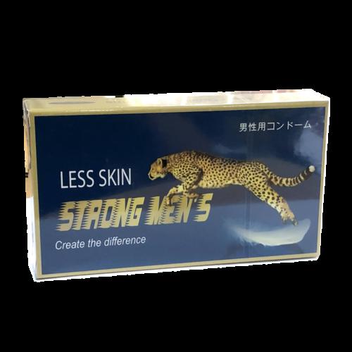 Bao cao su strong men less skin
