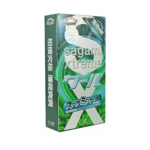 Bao Cao Su Sagami Xtreme Spearmint 10 Chiec