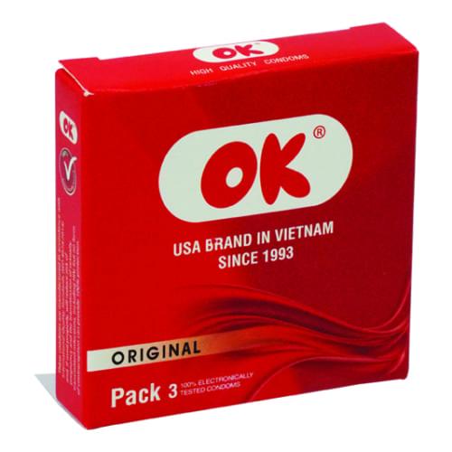 Bao cao su Ok Original