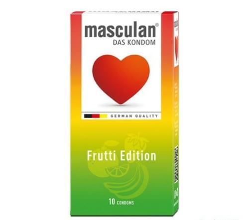 bao cao su masculan frutti edition