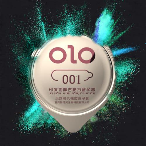 Bao Cao Su Olo Xanh Keo Dai 3